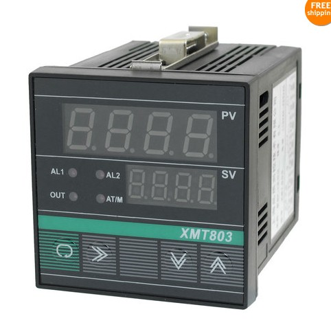 Temperature controller XMT-803 Intelligent intelligent PID temperature controller universal input alarm function 72*72 rakesh kumar and vineet shibe comparision conventional pid controller