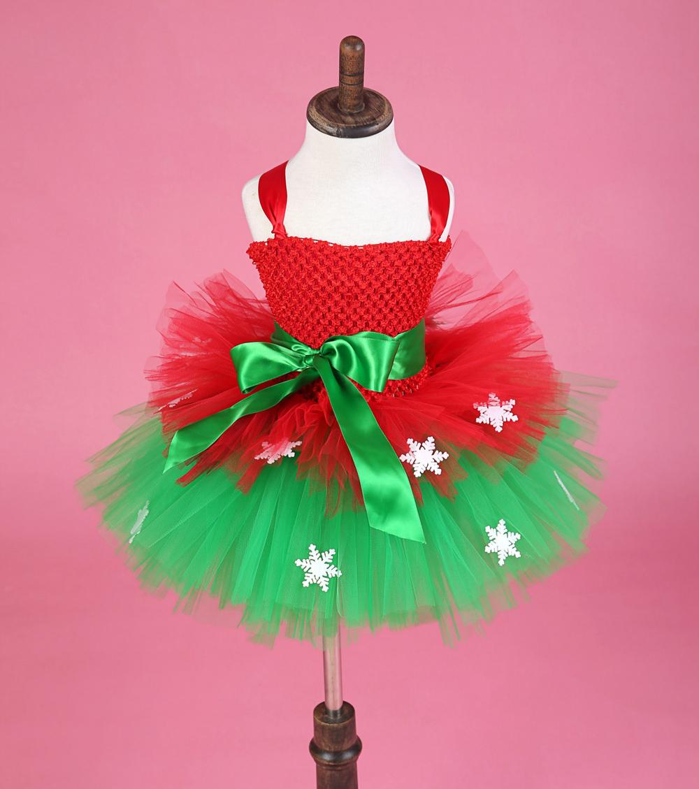 Encantador Vestido De Fiesta De Navidad Para Las Niñas Adorno ...