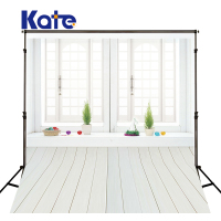 Kate Write Indoor Wedding Backgrounds For Photo Studio Wood Floor Photography Background Microfiber Photo Backdrop