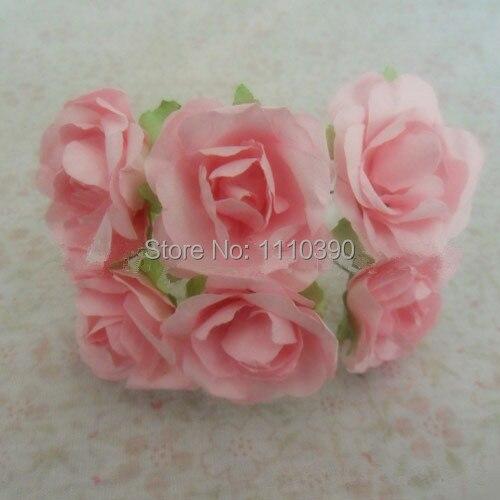 Aliexpress buy 3cm artificial wedding paper roses bouquets 3cm artificial wedding paper roses bouquetsmini mulberry paper flowers for diy scrapbooking paper flowers mightylinksfo