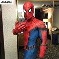 Костюм Человека-паука из фильма «Человек-паук» для взрослых, костюм Человека-паука для косплея, костюм супергероя на Хэллоуин, костюм зента...