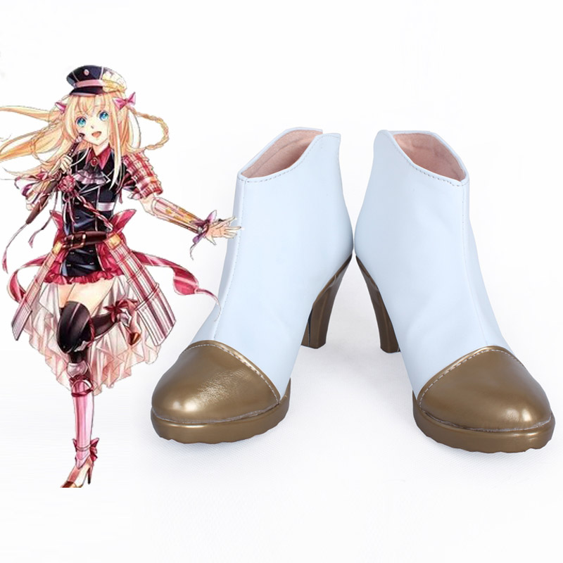 Touken Ranbu Online Midare Toushirou Cosplay Shoes High heel Handmade Customize New