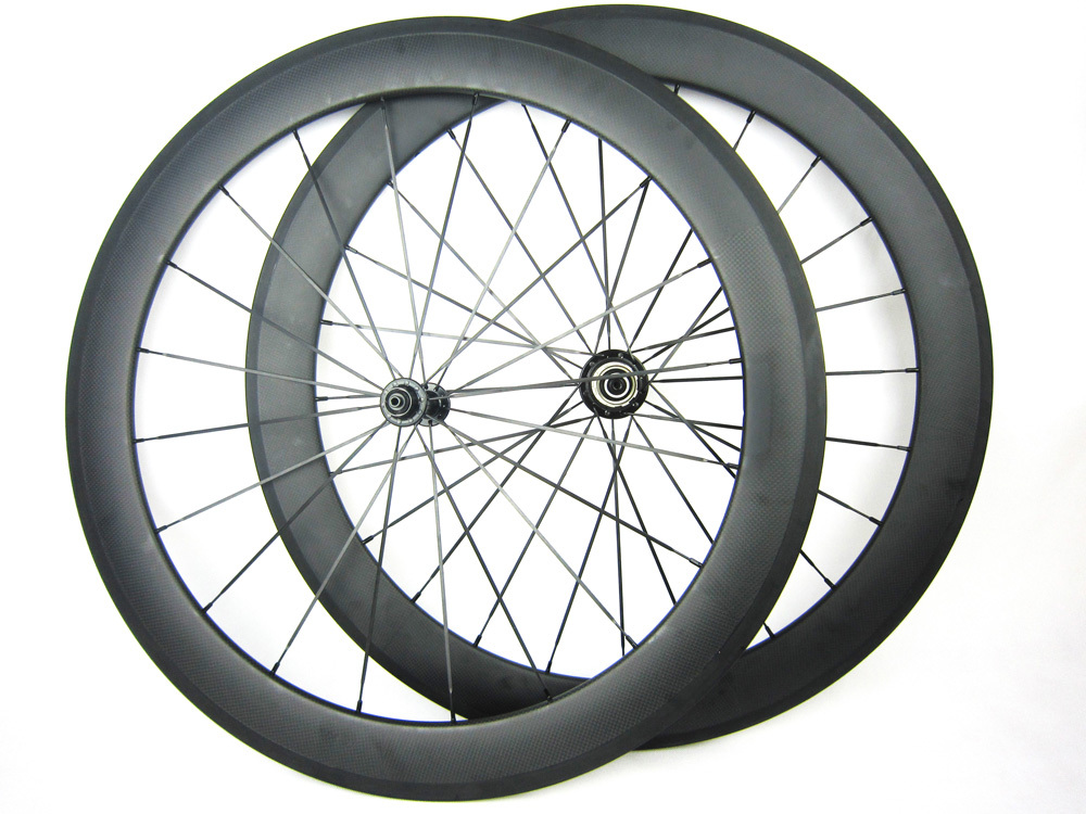 Ultra light weight 1480g 60mm profile 23mm width 700C carbon fiber road cycle wheel 11 font