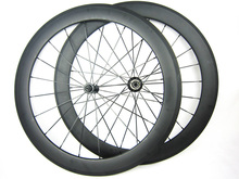 Ultra light weight 1480g 60mm profile 23mm width 700C carbon fiber road cycle wheel 11 speed