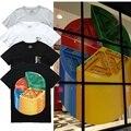 2017 nova versão palácio skates camisetas das mulheres dos homens de alta qualidade 1:1 marca hip hop clothing palácio 3d impressão de algodão t-shirt