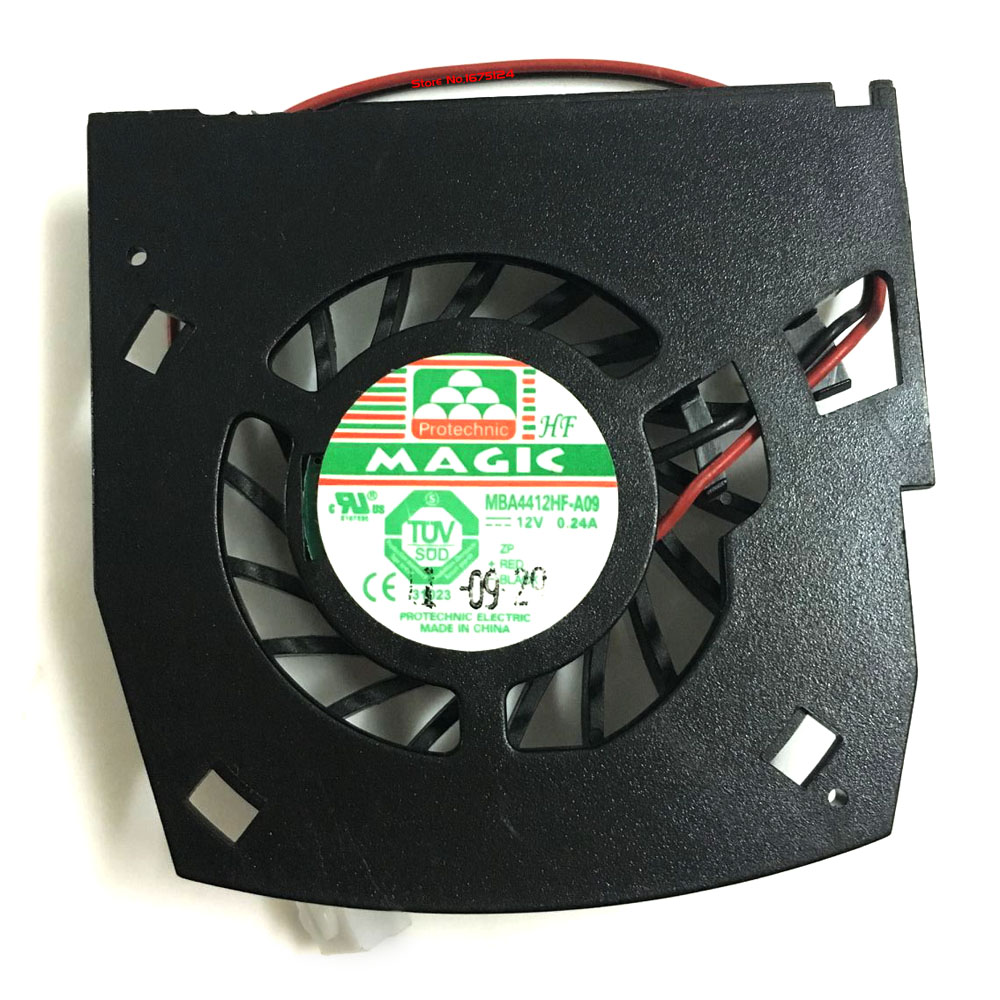 MBA4412HF-A09 12V 0.24A GPU cooler Graphics card fan for nvidia GT630 video card cooling 75mm pld08010s12hh graphics video card cooling fan 12v 0 35a twin for frozr ii 2 msi r6790 n560gtx r6850 n460gtx dual cooler fan
