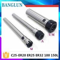 C25 ER20 C25 ER25 C25 ER32 100L 150L Collet Chuck Holder CNC Milling Powerful Clamping Force