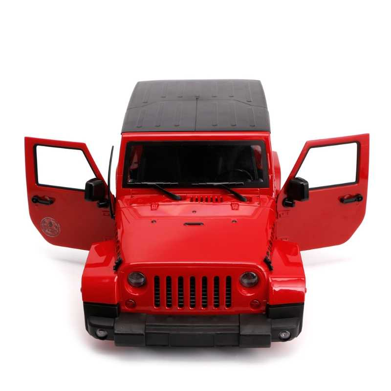 1/10 RC Afstandsbediening Truck Hard Body Shell Luifel Rubicon Topless Voor SCX10/D90