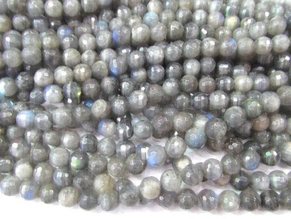 Beads & Jewelry Making Obedient High Quality 8 1012mm 16inch Genuine Labradorite Beads Round Ball Faceted Dark Blue Flashy Jewelry Bead In Short Supply