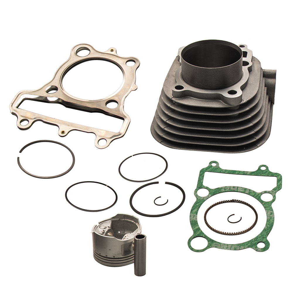 New Cylinder For Yamaha Timberwolf 250 Yfb250 Cylinder: For Yamaha Timberwolf 250 CYLINDER PISTON GASKET TOP END