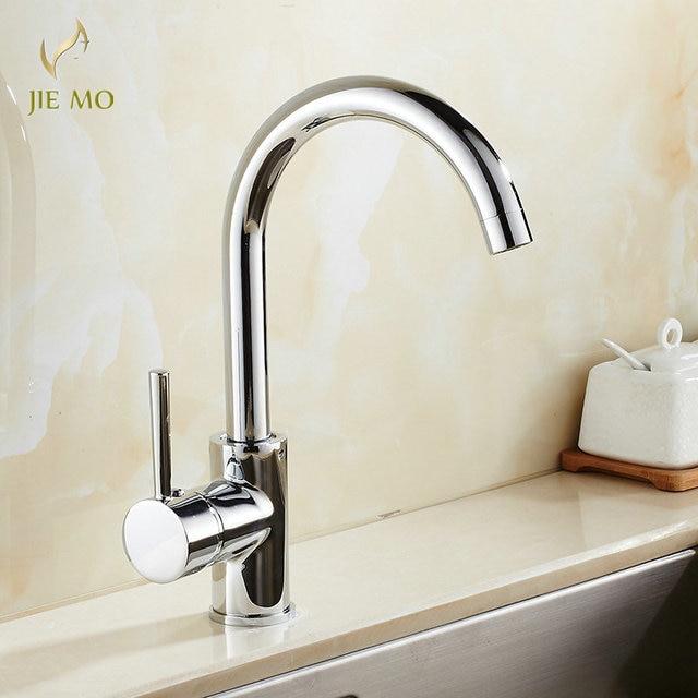 Factory direct sale Kitchen faucet chrome swivel kitchen sink Mixer ...
