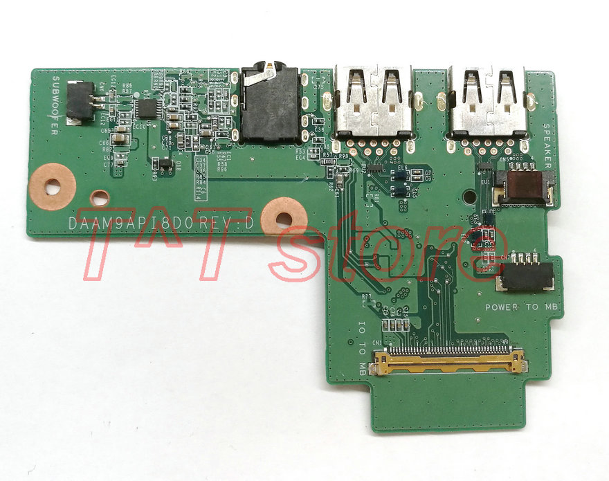 original FOR INSPIRON 15 5577 USB AUDIO BOARD test good free shipping