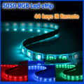5050 RGB Led Strip flexible led string Waterproof 5M 300 Leds +44 keys IR Remot lamps for home Holidays luminaria Decoration