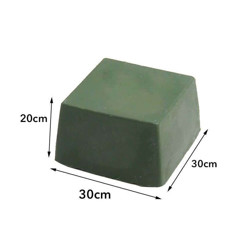 1 pçs verde pasta de polimento alumina fina abrasivo verde buff polimento composto de metal jóias polimento composto pasta abrasiva