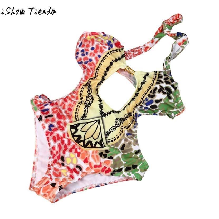 Прямая доставка Junior Обувь для девочек Купальник бикини многоцветный с низкой талией пуш-ап бюстгальтер Paded swimsuitsummer пляжные Купальники для м...