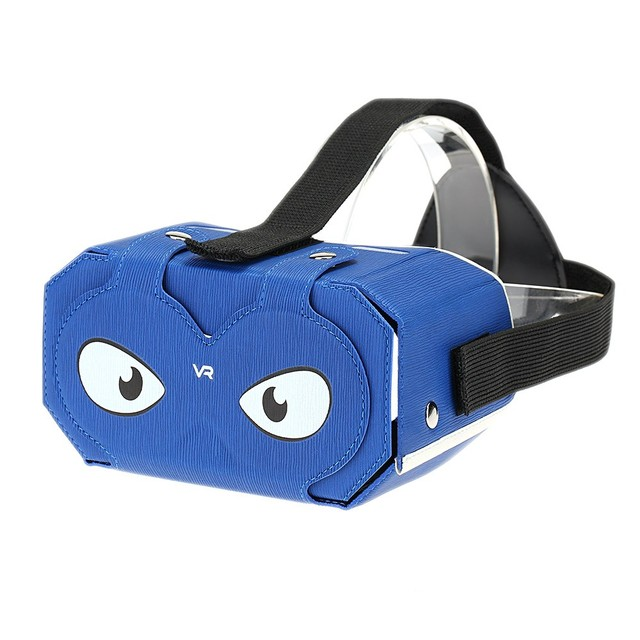 DIY VR 2 Virtual Reality Glasses DIY PU Leather Cardboard 3D VR Box Glasses Headset Universal for Android iOS Smart Phones