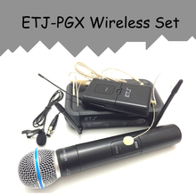 ETJ Model UHF Skilled Wi-fi Microphone System PGX24/BETA58 PGX14 PGX4 PGX2 MIC for STAGE with out case!Regular field