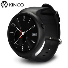 KINCO Smart Watch Android 5.1 1GB+16GB 1.39 3G WiFi GPS Heart Rate Monitor Map SmartWatch Clock Phone For/IOS Android/MTK6580