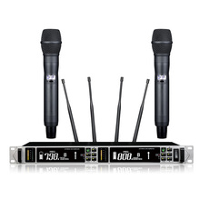 Novo! qualidade Superior Verdadeira diversidade sistema de microfone sem fio digital microfone desempenho profissional digital sistema de piloto