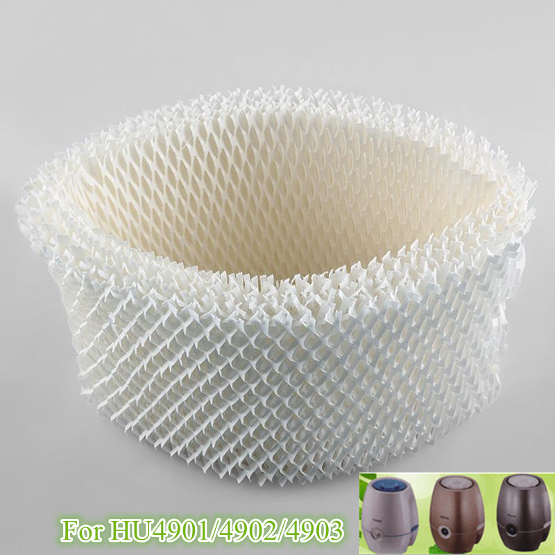 2 pieces/lot HU4101 Humidifier Filters,Filter Bacteria and Scale for Philips HU4901 HU4902 HU4903 Humidifier Parts 10 pieces lot 8mm 64mm humidifiers filters can be cut cotton swab for air humidifier
