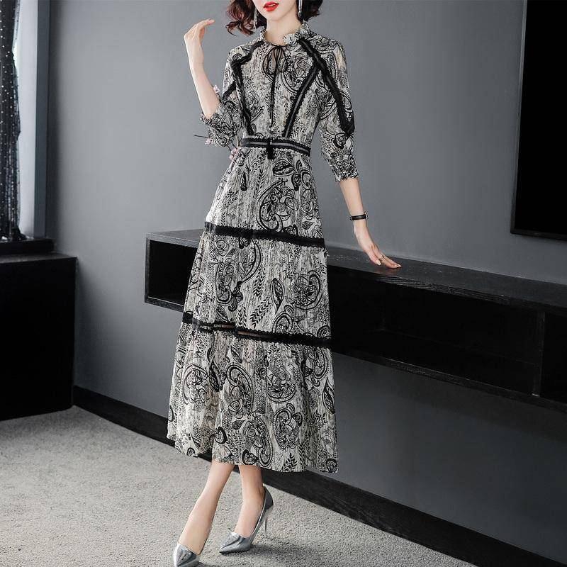 58ef522e579ba best top silk silk floral dress brands and get free shipping - c79ii62b