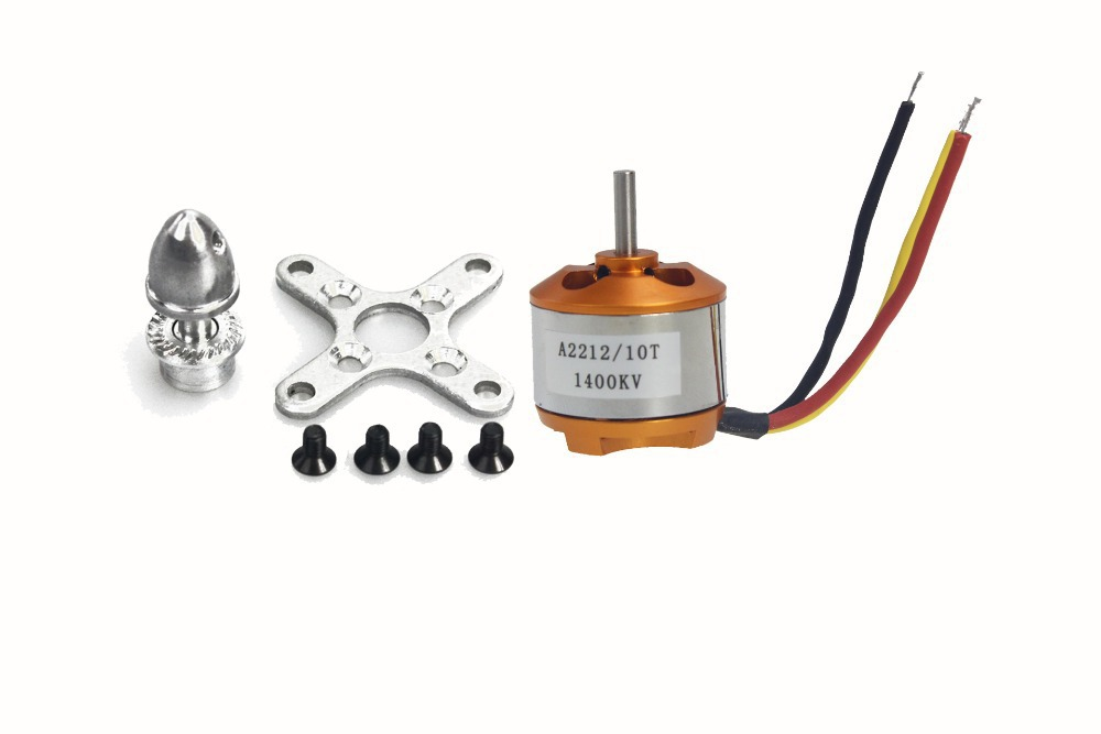 F02047 A 2212 A2212 1400KV Brushless Outrunner Motor W/ Mount 10T,RC Aircraft/KKmulticopter 4axle Quad copter UFO +FS
