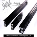 ЧПУ, 3D Принтер DIY TEVO 3d-принтер V-Слот Алюминиевый профиль 40*80 мм Линейного Рельса Алюминиевый профиль профилей для 3d-принтер