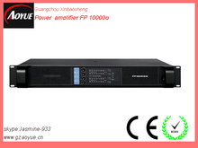 4CH amplifier 1350W digital amplifier LAB gruppen fp10000q professional audio power amplifier