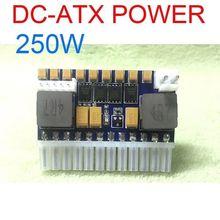 250w DC ATX placa de alimentação dc 12v pico atx interruptor psu carro auto 24pin itx módulo alimentação