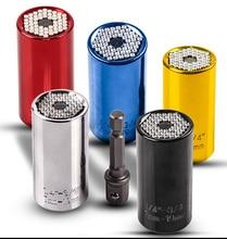Drill Bits for Metal Tool Universal Socket Adapter+Power Drill Adapter 2pcs/Set Car Hand Tools Repair Kit Adapter Drill