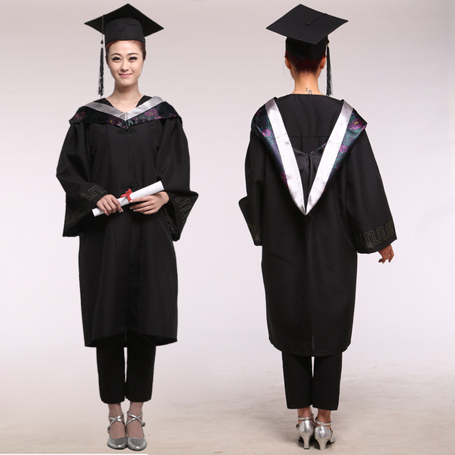 Aliexpress.com : Buy Girl Robes Academic Graduation Gowns Dress for ...