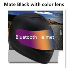 HOT Unisex-Adult's Full-Face Style Bluetooth Integrated Motorcycle Helmet with Graphic (Gloss Black Edge Red, XX-LARGE) цена 2017