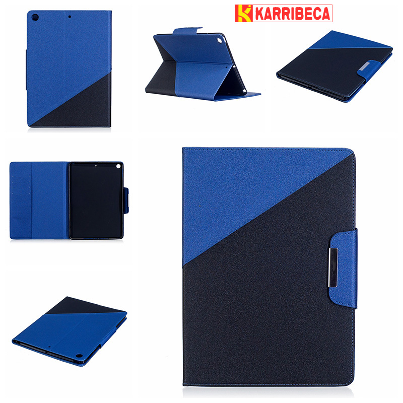 Dual combo color PU leather cover for I pad 9.7 2017 coque etui husa tablet case for i pad pro 9.7 kryt funda pouzdra tok puzdra