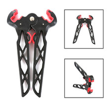 Compound Bows Kick Stand Holder Recurve Bow Bracket Legs Targets Hunting Arrow Kicks stand