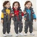 Дети детской одежды мальчик новорожденного унисекс одежда набор полный теннис infantil menino дети с капюшоном baby boy комплект одежды зима