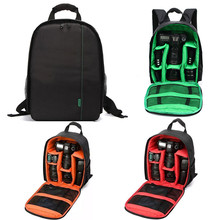 Waterproof Digital DSLR Camera Bag Multifunctional Photo Camera Backpack Small SLR Video Bag For the Camera Nikon Canon
