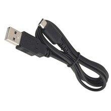 10 יחידות שחור קל משקל עמיד ביצועים מצוינים כבל מתח USB לטעינה עבור Nintendo DS עבור NDS לייט לNDSL