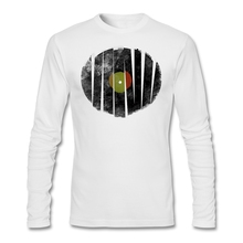 Vinyl record pieces men's longsleeve shirt