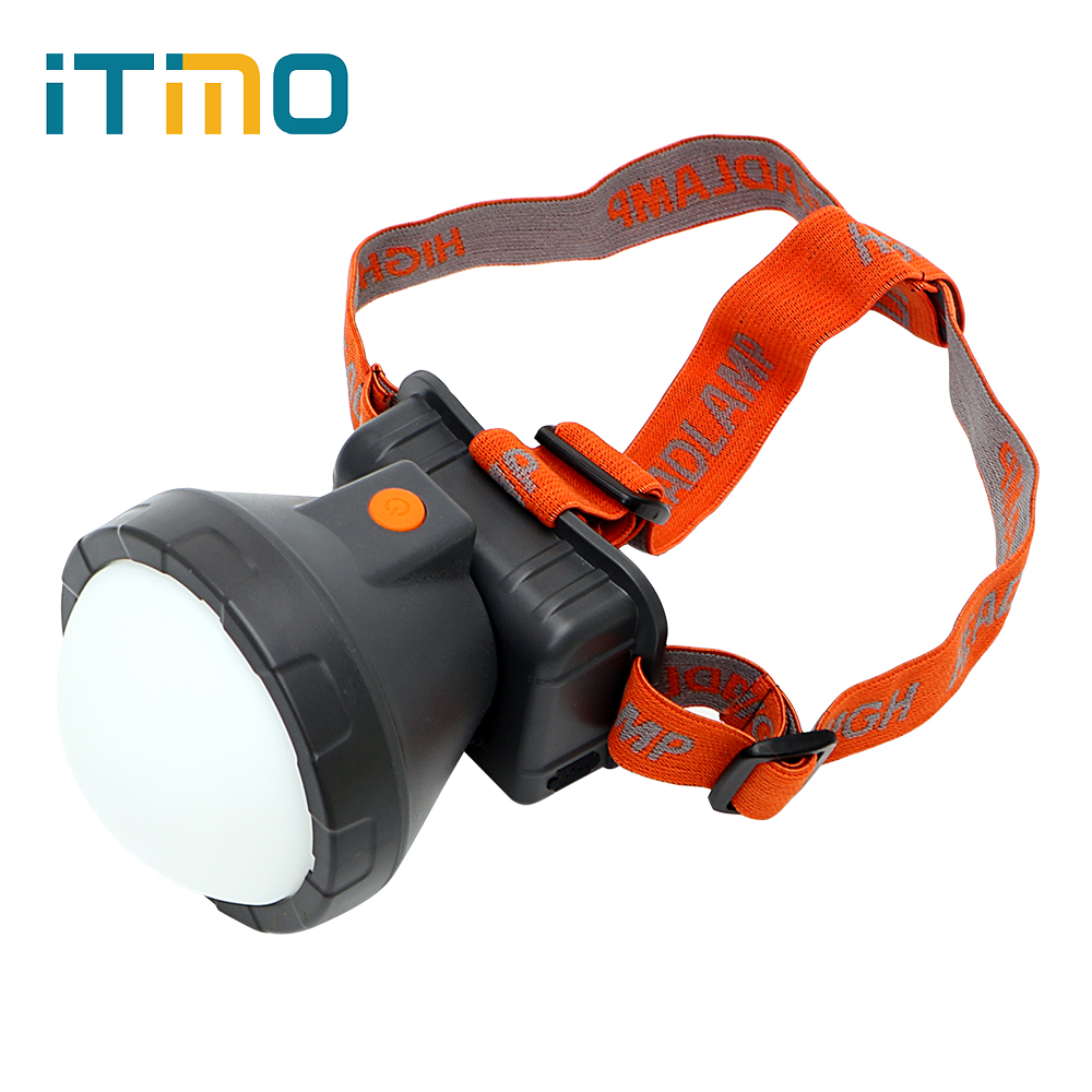 ITimo 5000ML T6 Head Light Headlamps LED Headlight Lantern 3 Mode Rechargeable Emergency Lamp For Hunting Hiking Camping