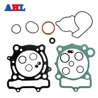 Motorcycle Engine Parts Head Cylinder Gaskets Kit For KAWASAKI KXF250 KX250F 2004 2008 Stator Cover Gasket