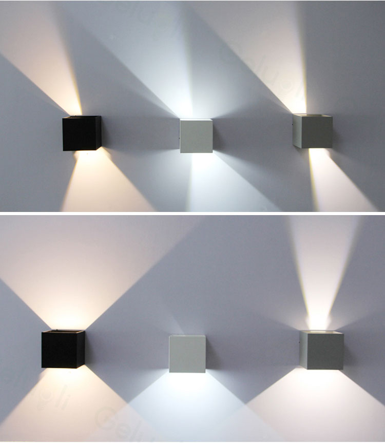 CUBE UP DOWN WALL LIGHT (8)