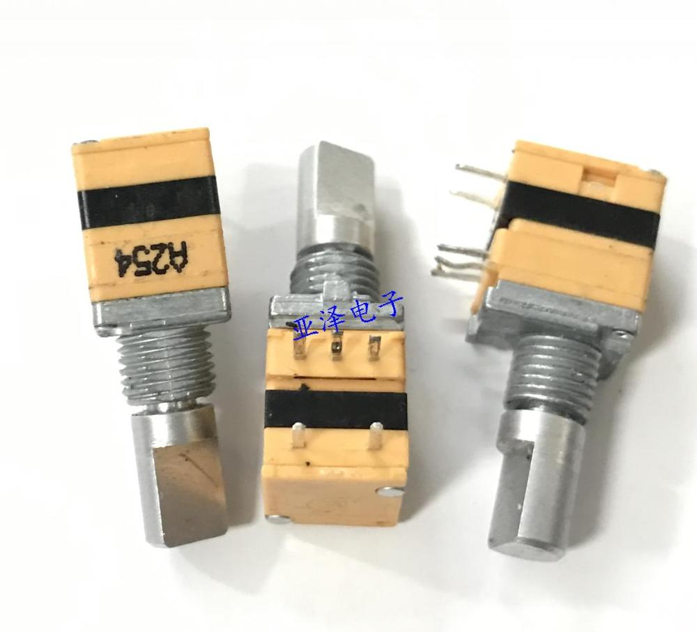 Lighting Accessories 2pcs/lot Taiwan Sw Rising Wei Type 09 Precision Potentiometer A250k Single Band Press Switch Shaft Long 15mm Volume Switch Switches