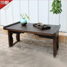 Large windows and wood laptop desk multifunctional desk coffee table kang table tatami bed folding tables