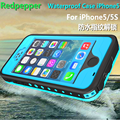 Waterproof case para iphone 5s para a apple se com a seguinte conjunto tampa do telefone À Prova D' Água de natação mergulho 2 metros de profundidade casos