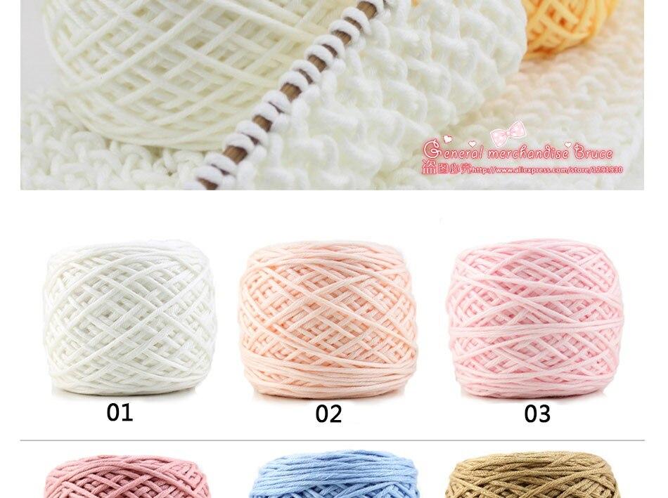 ⊰200g wholesale Lots Soft bambú crochet tejer algodón Hilado ...