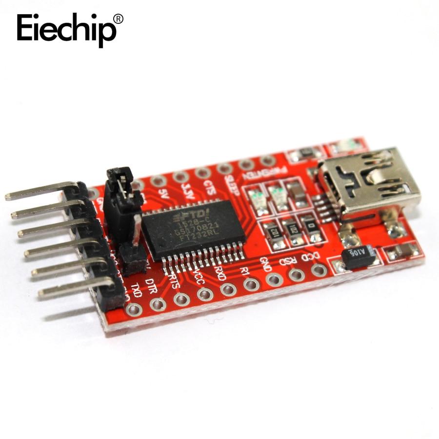 1 шт. FT232RL FT232 ftdi usb к TTL 3.3 В 5.5 В Серийный адаптер модуля Скачать кабеля для Arduino Mini порты и разъёмы ардуино модули ардуино-мини 6ft232rl 3.3v 5.5v ftdi usb to ... ...