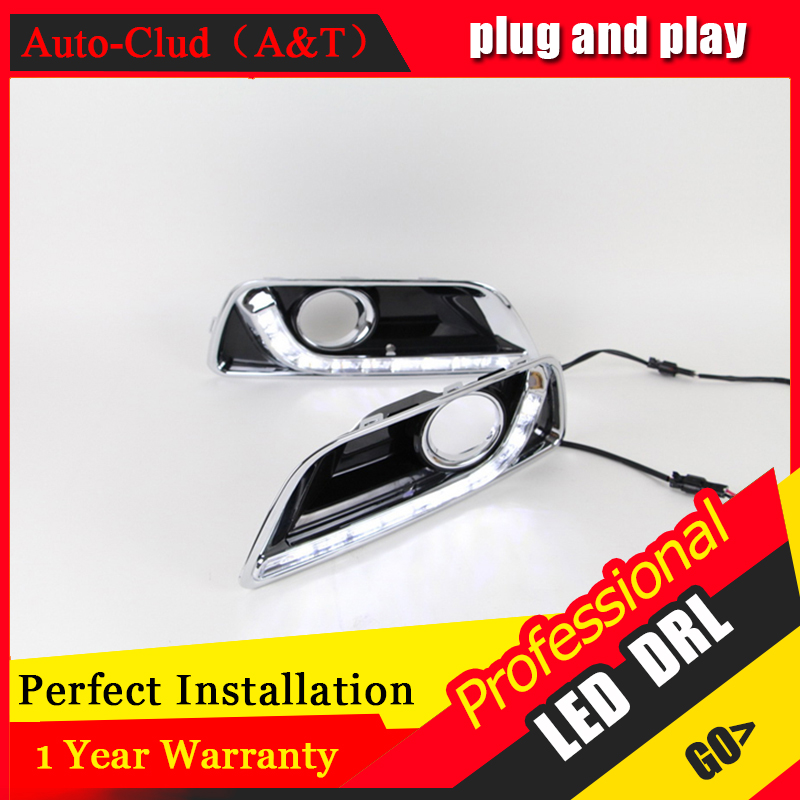 Auto Clud car styling For Malibu LED DRL For Malibu High brightness guide LED DRL led fog lamps daytime running light A style