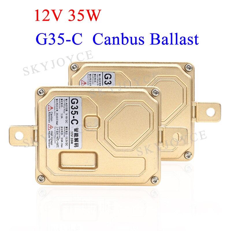 35W G35-C 2 canbus ballast