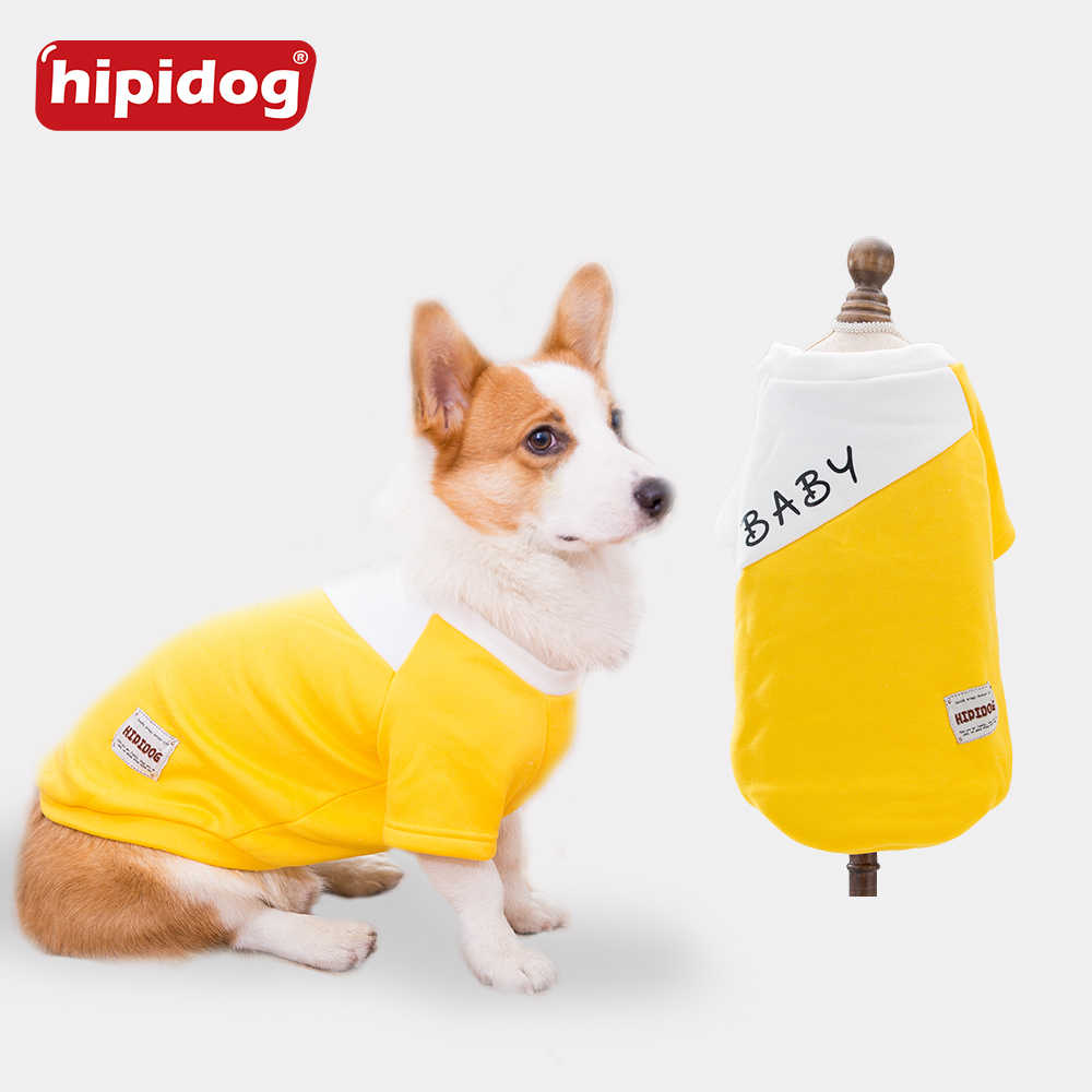 6757ec76 Hipidog Spring Autumn Pet Clothes Warm Dog Sweater Clothing Only for Corgi  French Bulldog Pug Small