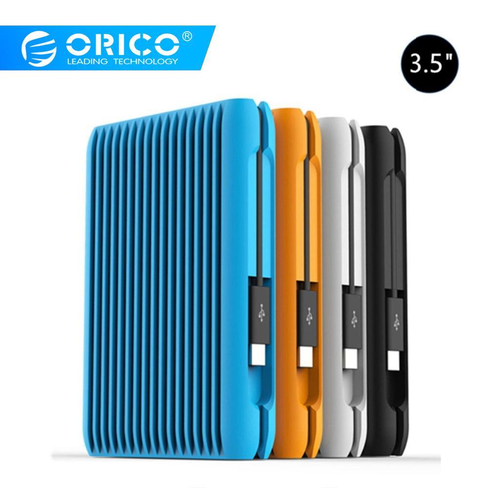 Orico Hard-Disk HDD TYPE-C External Laptop USB Sata Mobile 2-Tb Shockproof Gen2 Eu-Plug
